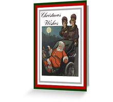 Vintage Christmas Wishes Greeting Greeting Card