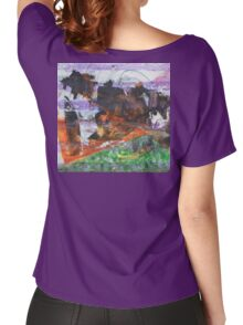 Anomaly 2 - Original Wall Modern Abstract Art Painting Women's Relaxed Fit T-Shirt