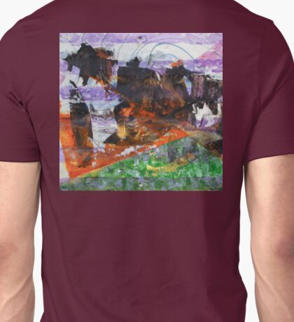 Anomaly 2 - Original Wall Modern Abstract Art Painting Unisex T-Shirt