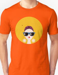 Sunglasses glamour woman - leo horoscope. Unisex T-Shirt