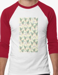 CACTUS CONFETTI Men's Baseball ¾ T-Shirt