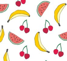 SUMMER FRUITS Sticker