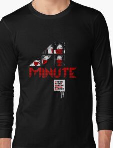 4MINUTE HATE Long Sleeve T-Shirt