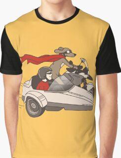 Biker dog Graphic T-Shirt
