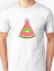 Watermelon X Kiwi Unisex T-Shirt