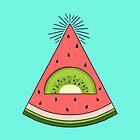 Watermelon X Kiwi by prawidana