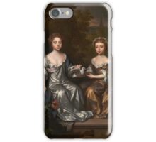 Willem Wissing - Portrait of Henrietta and Mary Hyde, Tate Britain iPhone Case/Skin
