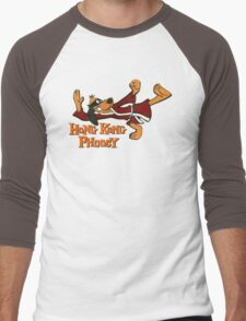 HONG KONG PHOOEY! Men's Baseball ¾ T-Shirt