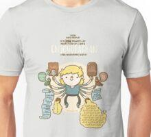 Enjoyotarian - I eat whatever I want  Unisex T-Shirt