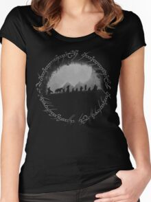 The Lord of The Rings Women's Fitted Scoop T-Shirt