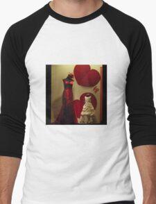 Red Dress Men's Baseball ¾ T-Shirt