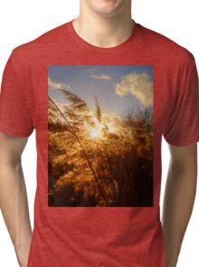 Marsh Sunset Tri-blend T-Shirt