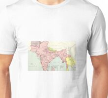 Old map of India Unisex T-Shirt