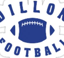 Dillion Football Sticker