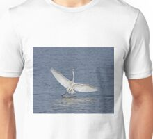 Great White Egret in The Gambia Unisex T-Shirt