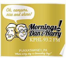 Mornings with Dan & Harry, KPHL 93.2 FM Poster