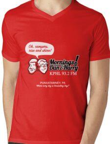 Mornings with Dan & Harry, KPHL 93.2 FM Mens V-Neck T-Shirt