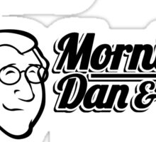Mornings with Dan & Harry, KPHL 93.2 FM Sticker