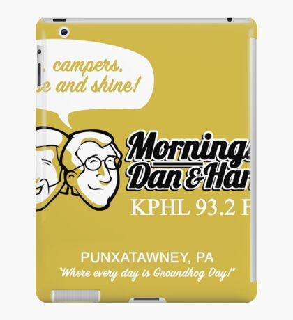 Mornings with Dan & Harry, KPHL 93.2 FM iPad Case/Skin