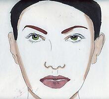 Portrait of A Woman Photographic Print