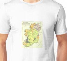 Old map of Ireland Unisex T-Shirt