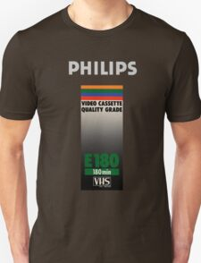 Retro VHS tape vaporwave aesthetic T-Shirt