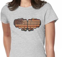 USA! Womens Fitted T-Shirt