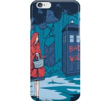 tardis bad wolf  iPhone Case/Skin