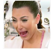 Huge Kim Kardashian Crying Poster