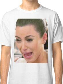 Huge Kim Kardashian Crying Classic T-Shirt