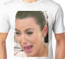 Huge Kim Kardashian Crying Unisex T-Shirt