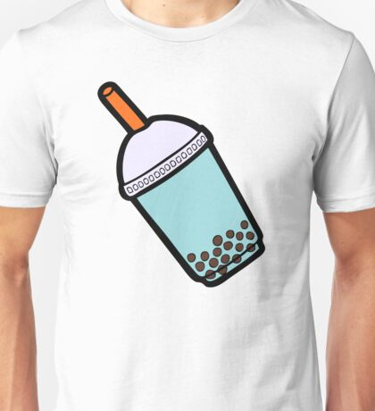 Bubble Tea Pattern Unisex T-Shirt