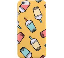 Bubble Tea Pattern iPhone Case/Skin
