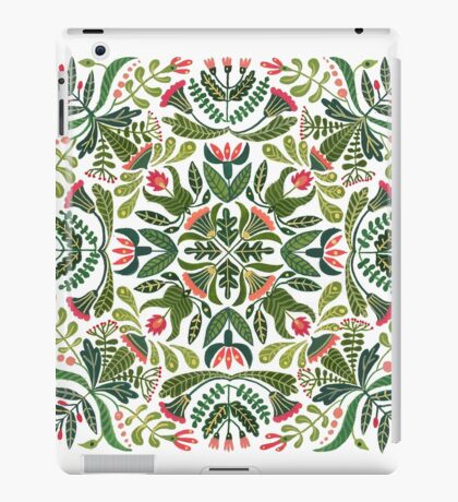 Little red riding hood - mandala pattern iPad Case/Skin