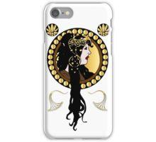 Art Nouveaux Lady  iPhone Case/Skin