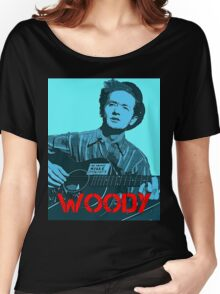 WOODY GUTHRIE Women's Relaxed Fit T-Shirt