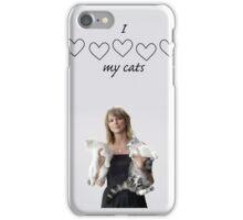 i love my cats iPhone Case/Skin