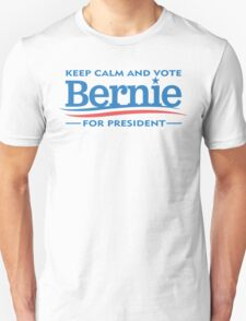 Keep Calm and Vote for Bernie T-Shirt