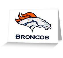 50th Super Bowl 2 Greeting Card