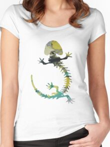 Cryptobranchus  Women's Fitted Scoop T-Shirt