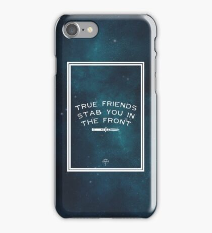 True Friends Stab You In The Front - BMTH (Space) iPhone Case/Skin