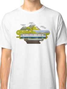 Railway Locomotive #40 Classic T-Shirt