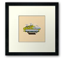Railway Locomotive #40 Framed Print