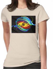 Atlantis Swirl Womens Fitted T-Shirt