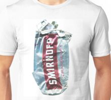 Smirnoff Cranberry - Crushed Tin Unisex T-Shirt