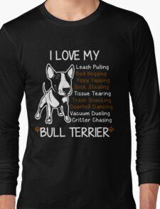 Bull Terrier Lover Long Sleeve T-Shirt