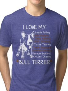 Bull Terrier Lover Tri-blend T-Shirt