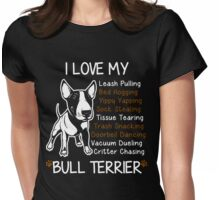 Bull Terrier Lover Womens Fitted T-Shirt