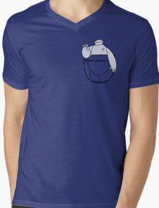 POCKET PERSONAL HEALTHCARE COMPANION Mens V-Neck T-Shirt