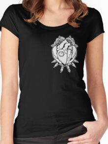 A Heart for Artists Women's Fitted Scoop T-Shirt